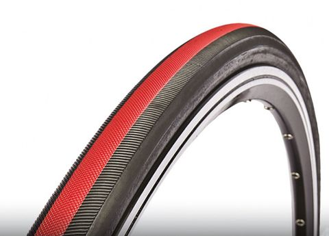 Bicycle tire, Bicycle wheel rim, Rim, Automotive tire, Red, Synthetic rubber, Colorfulness, Orange, Line, Amber,