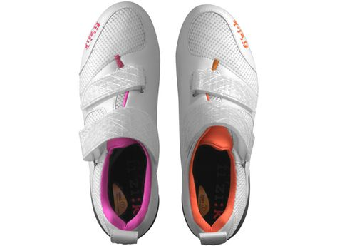 Product, Shoe, Pink, Magenta, Carmine, Synthetic rubber, Orange, Purple, Grey, Running shoe,