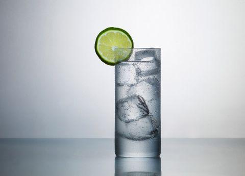 Liquid, Lemon, Fluid, Citrus, Fruit, Drink, Glass, Cocktail, Tableware, Drinkware,