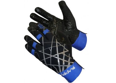 Finger, Safety glove, Glove, Bicycle clothing, Electric blue, Personal protective equipment, Azure, Cobalt blue, Sports gear, Thumb,