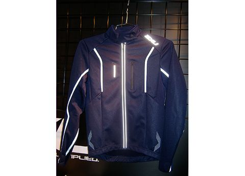 Product, Sleeve, Collar, Jacket, Sportswear, Outerwear, Fashion, Black, Electric blue, Jersey,