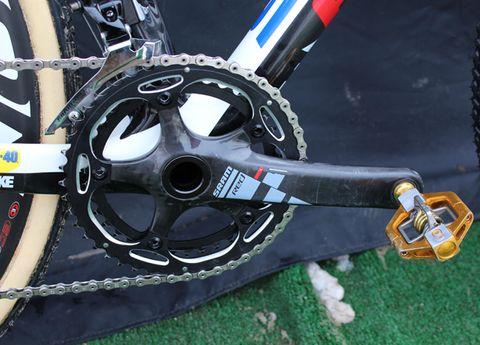 Bicycle part, Crankset, Bicycle drivetrain part, Bicycle chain, Rim, Bicycle wheel rim, Spoke, Groupset, Gear, Alloy wheel,