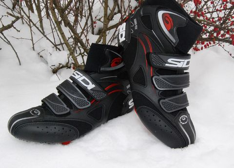 White, Athletic shoe, Winter, Carmine, Black, Twig, Grey, Snow, Composite material, Synthetic rubber,