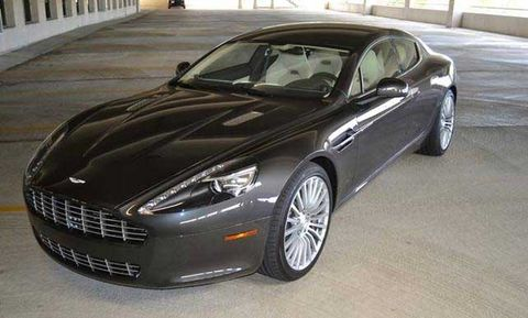The Aston Martin Rapide Mens Healthcom - Aston martin four door