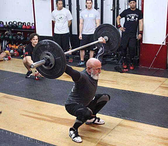 Powerlifter guys ass
