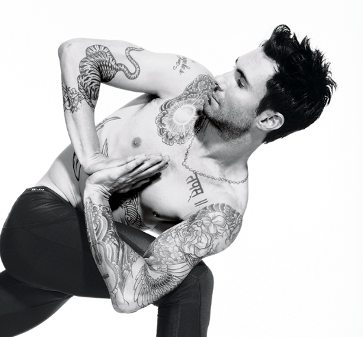 Adam Levine's Workout