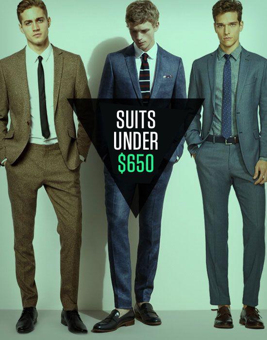 11 Suits Under $650