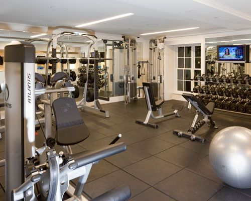 Best hotel gyms men s health