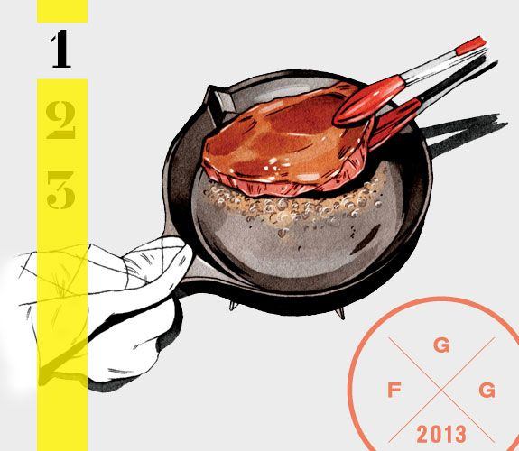 Guy Food Guide: Cooking for One