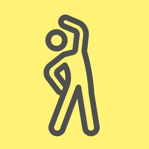 standing stretch