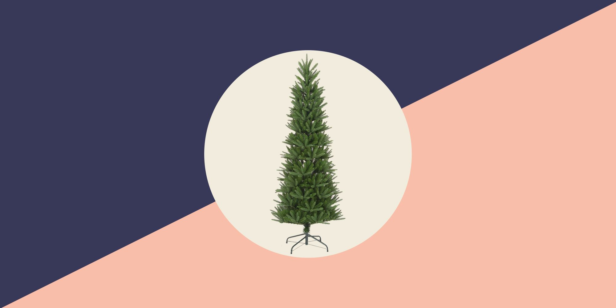 Tall Skinny Christmas Tree Silhouette.25 Slim Christmas Trees For Small Spaces Pencil Christmas