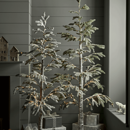 24 slim christmas trees for small spaces   pencil christmas trees