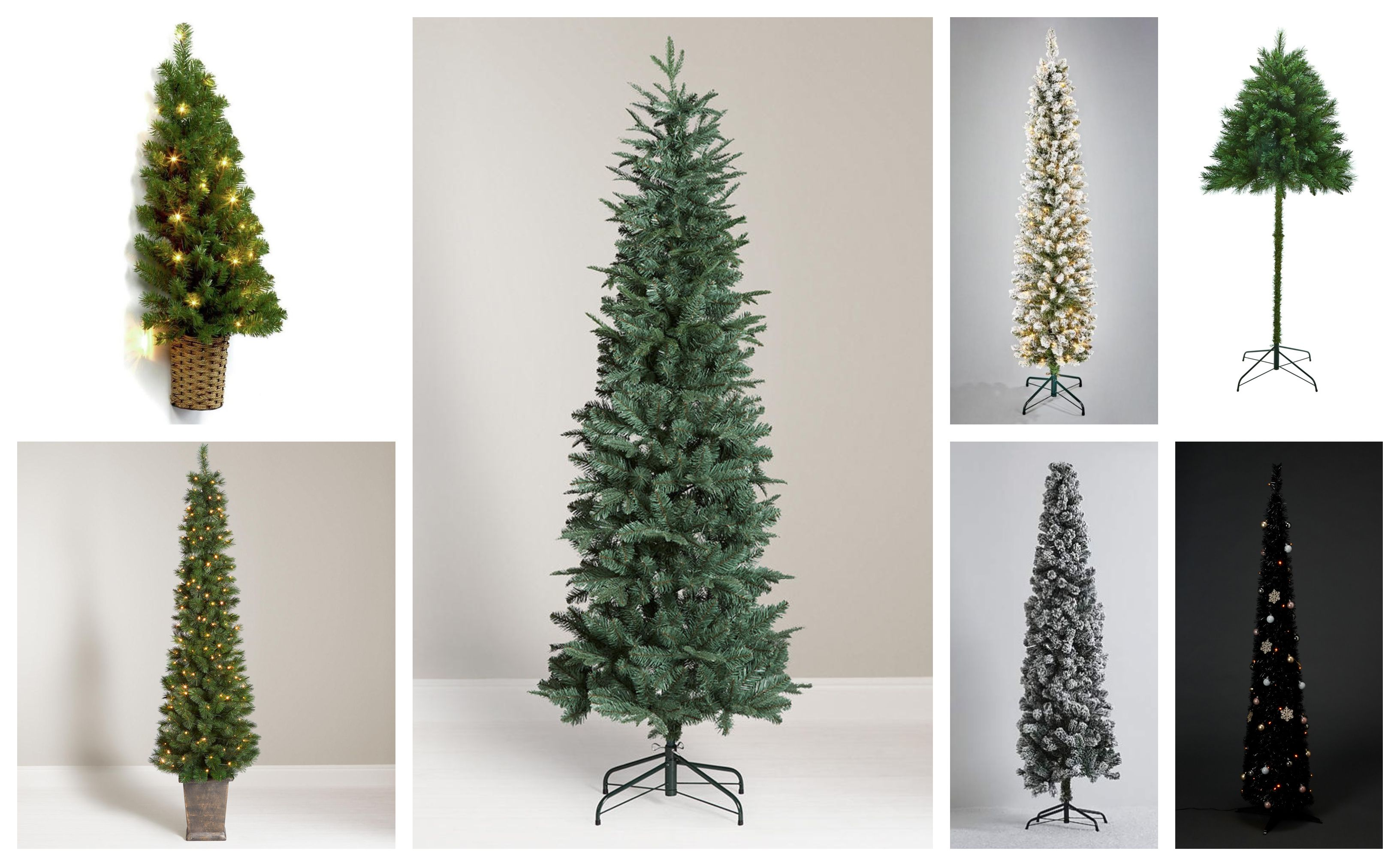 11 Slim Christmas Trees Perfect For Small Spaces - Best Pencil ...