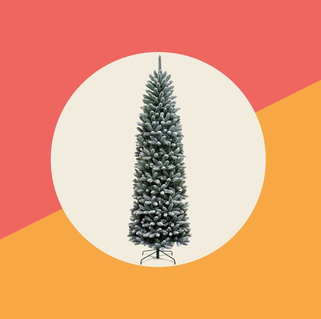 25 slim christmas trees for small spaces   pencil christmas trees