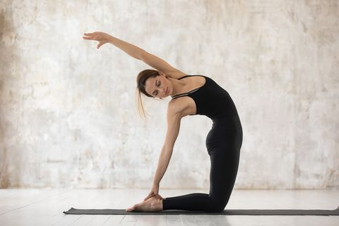瑜伽 駱駝式 改善背部疼痛 伸展背肌