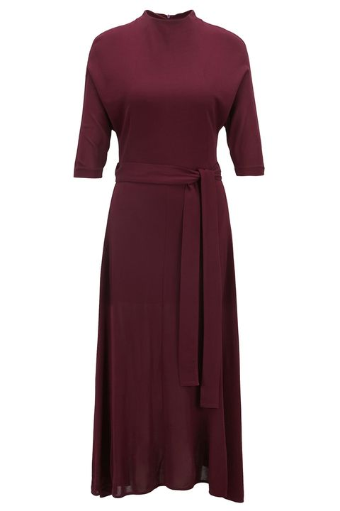 ddeff0bca03c48 Slim-fit dress in soft jersey with detachable beltStyle Eodora .