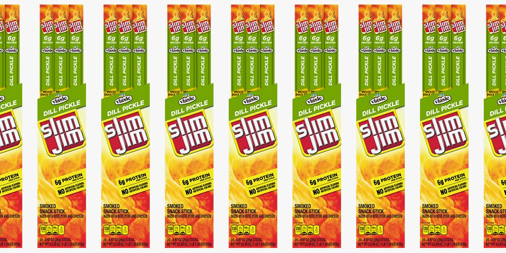 Slim Jim Just Released a Vlasic Dill Pickle Flavor For a Winning Snack Combo