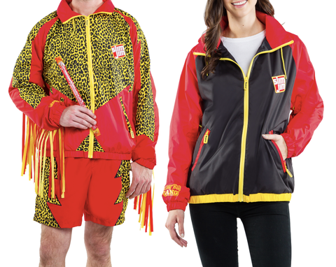 Clothing, Outerwear, Jacket, Sleeve, Yellow, Hood, Hoodie, Costume, Sportswear, Top,
