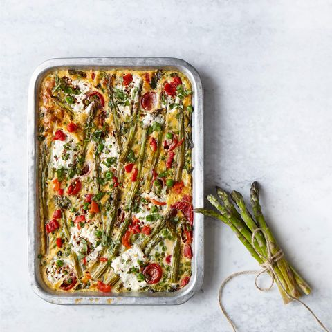 Slimming World asparagus frittata