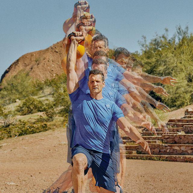 トレーニング,全身を強化,nfl,エクササイズ,前腹筋鞘,腹斜筋,対側股内転筋,脊柱起立筋,胸腰筋膜深層,仙結節靭帯,大腿二頭筋,中殿筋,小殿筋,対側股内転筋,ラテラルランジ,ロウ,筋トレ,
