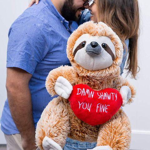 Stuffed toy, Teddy bear, Plush, Toy, Love, Interaction, Textile, Smile, Hug,