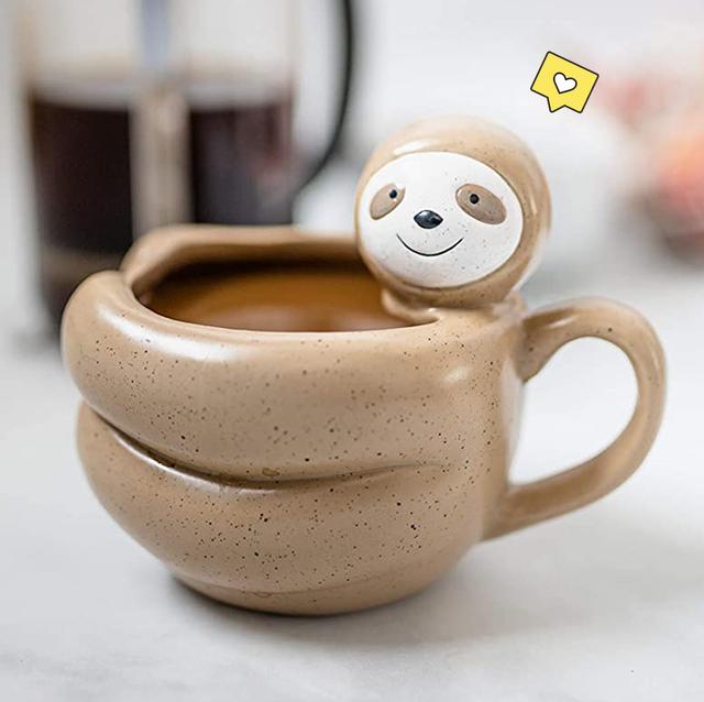 sloth mug and socks