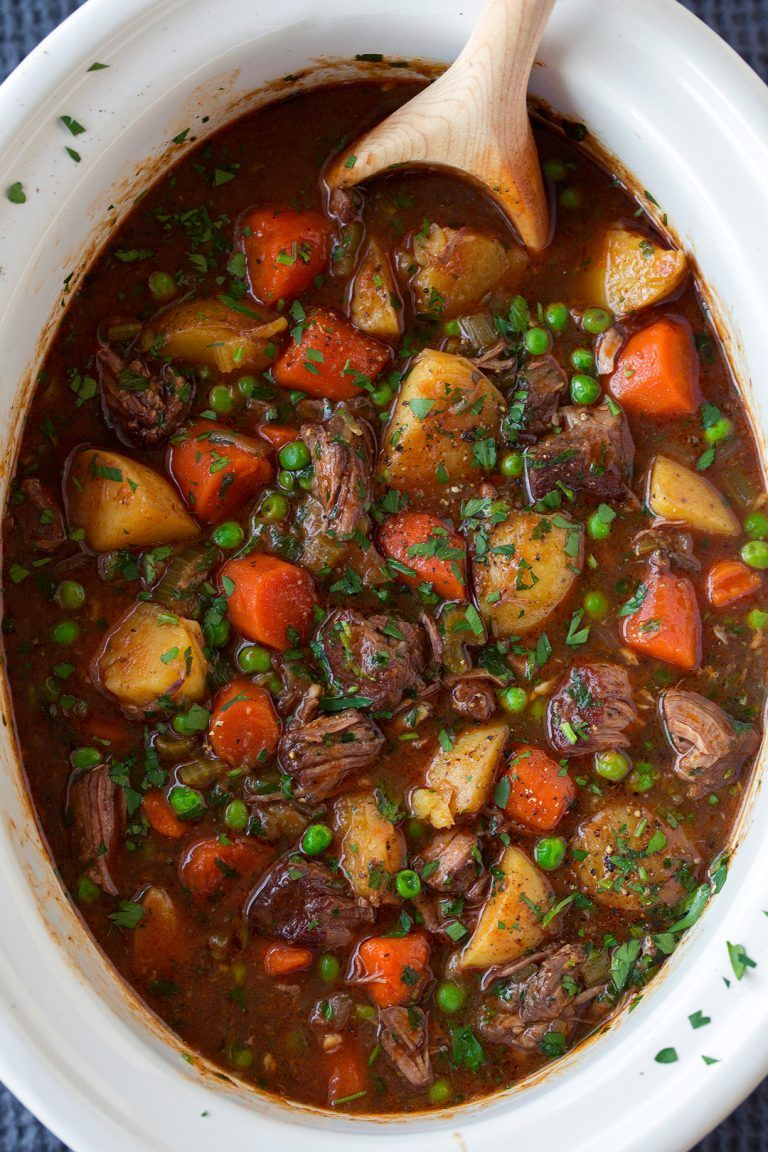 slow cooker beef recipes stew
