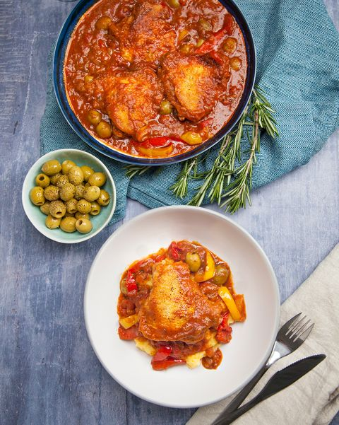 best slow cooker recipes chicken cacciatore