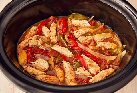 Best Crockpot Chicken Fajitas How To Make Crockpot Chicken Fajitas