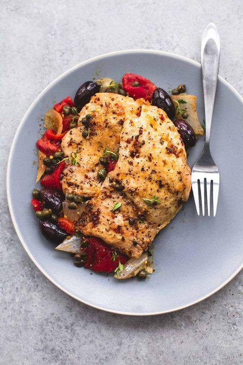 slow cooker chicken recipes mediterranean