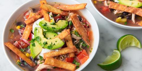 10 Easy Tortilla Soup Recipes How To Make Homemade Tortilla Soup Delish Com