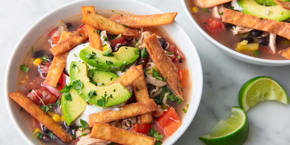 Slow Cooker Chicken Soup: Best Slow-Cooker Chicken Tortilla Soup Recipe
