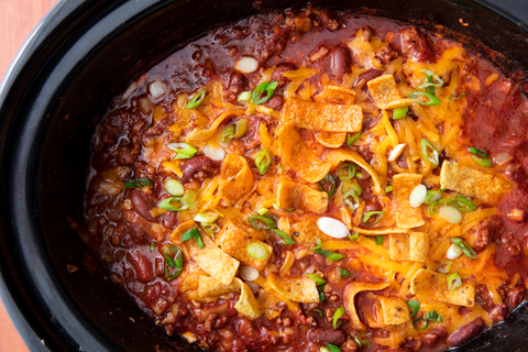 Best Slow-Cooker Chili Recipe - How to