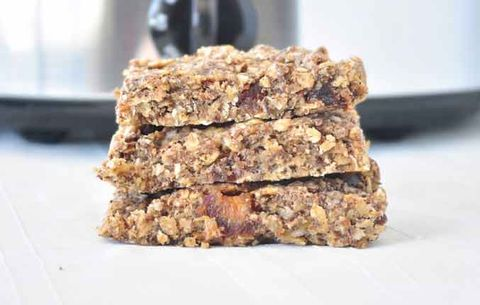 Slow Cooker Coconut Granola Bars
