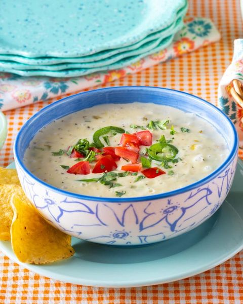 slow cooker dips queso dip with tortilla chips