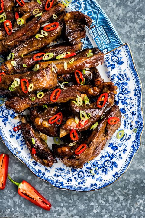 slow cooker pork ribs asian