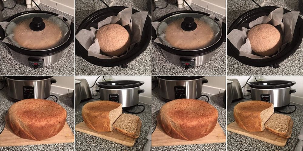 You Have To Try This Woman's Three-Step Slow Cooker Bread Recipe