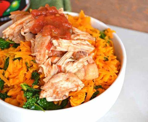 slow cooker sweet potato rice