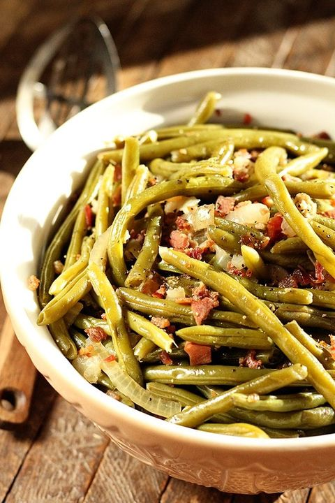 slow cooker thanksgiving recipes southern green beans