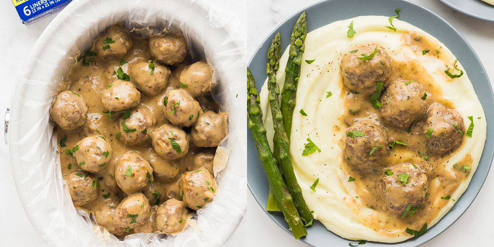 This Woman's Slow Cooker Swedish Meatballs Recipe Makes Meatballs Just Like The Ones From Ikea