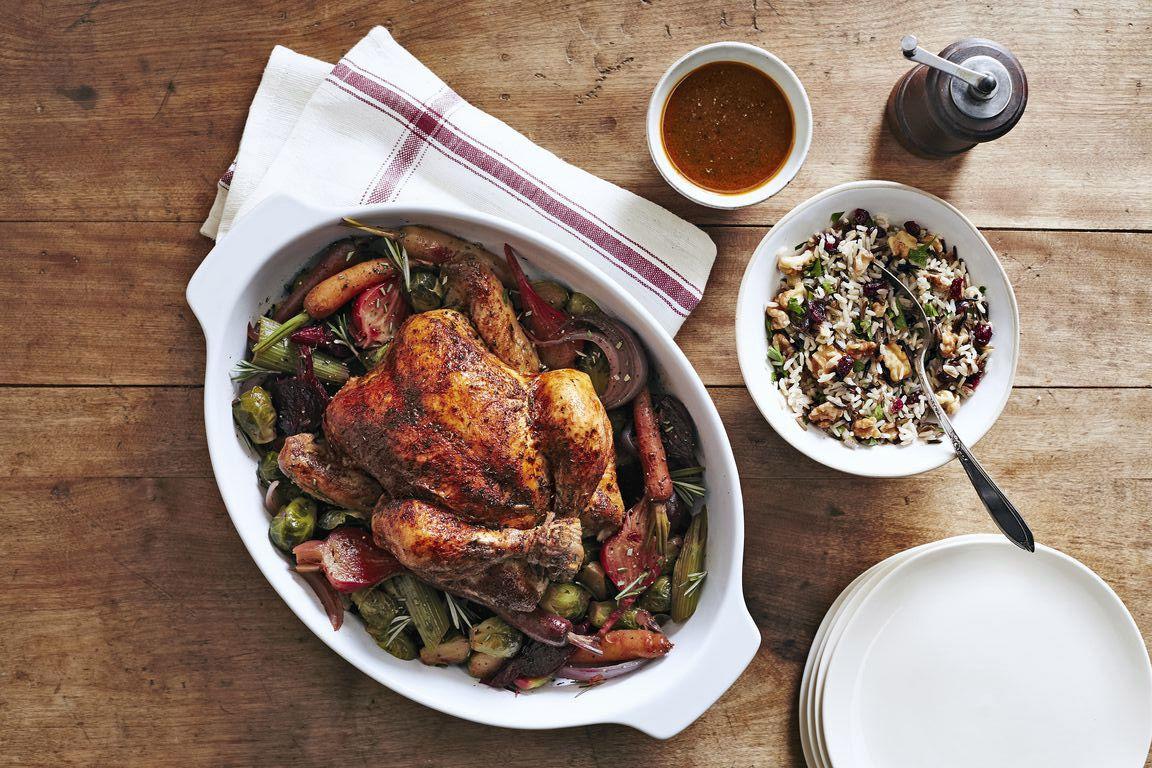 slow cooker thanksgiving menu