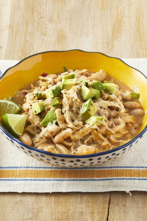 slow cooker white chicken chili crock pot recipes