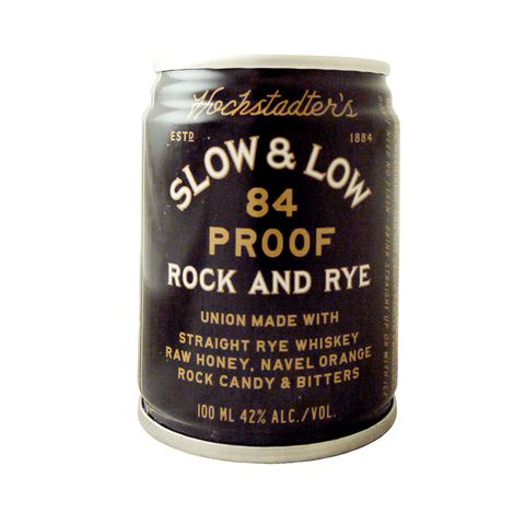 hochstadter's slow  low 84 proof rock and rye