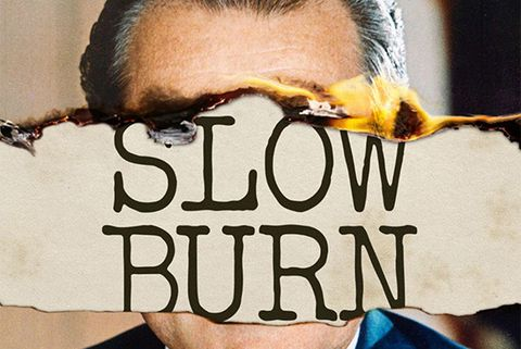 slow burn podcast logo
