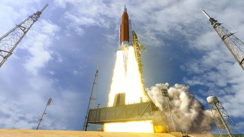 Rocket, space shuttle, Spacecraft, Rocket-powered aircraft, Aerospace engineering, Spaceplane, Missile, Sky, Vehicle, Aircraft,