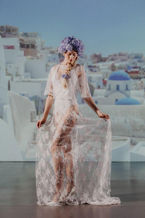 White, Clothing, Dress, Gown, Wedding dress, Fashion, Bridal clothing, Bride, Photography, Fashion design,