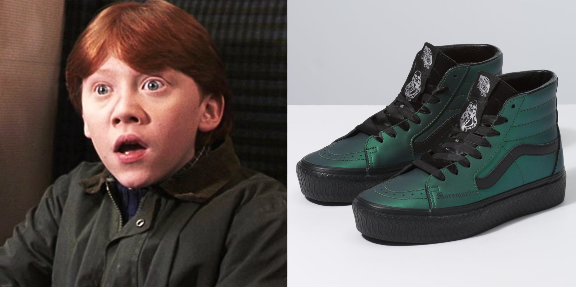 Vans Releases New Harry Potter Themed Sneaker Collection