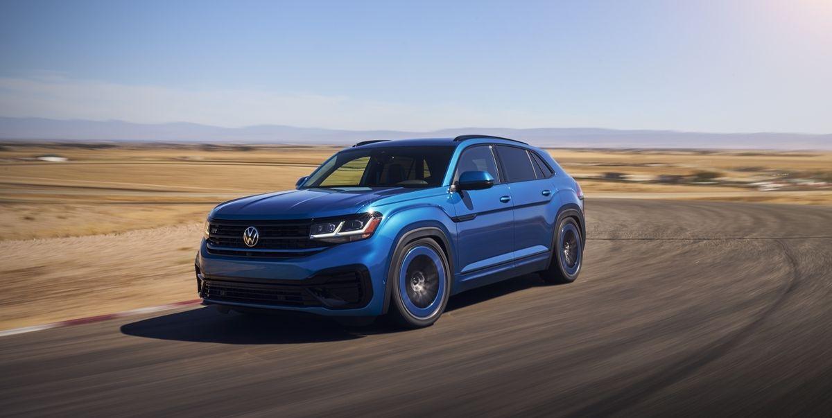 VW Atlas Cross Sport GT Concept Gets the Golf R's 300-HP Engine
