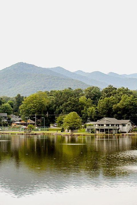 Small American Town Destination Black Mountain, North Carolina