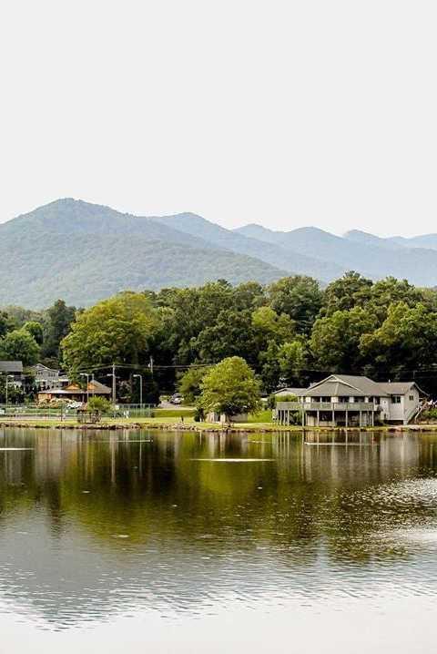Small American Town Destination Black Mountain, North Carolina